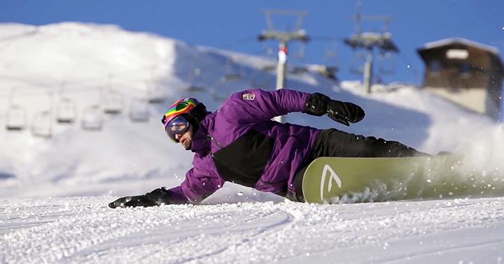 Правила поведения при катании на сноуборде