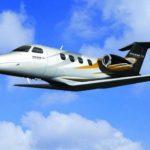 Легкий самолет Phenom 100E для горнолыжной экскурсии