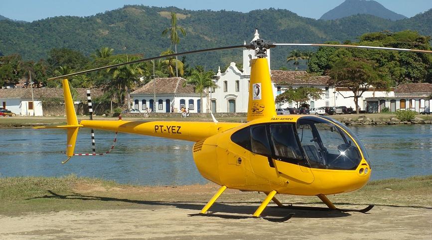 Заказать вертолет Robinson R44 для приватной экскурсии